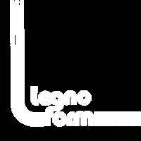 logo LEGNO FORM bianco 500